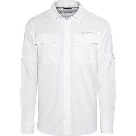 Columbia Silver Ridge II - T-shirt manches longues Homme - blanc